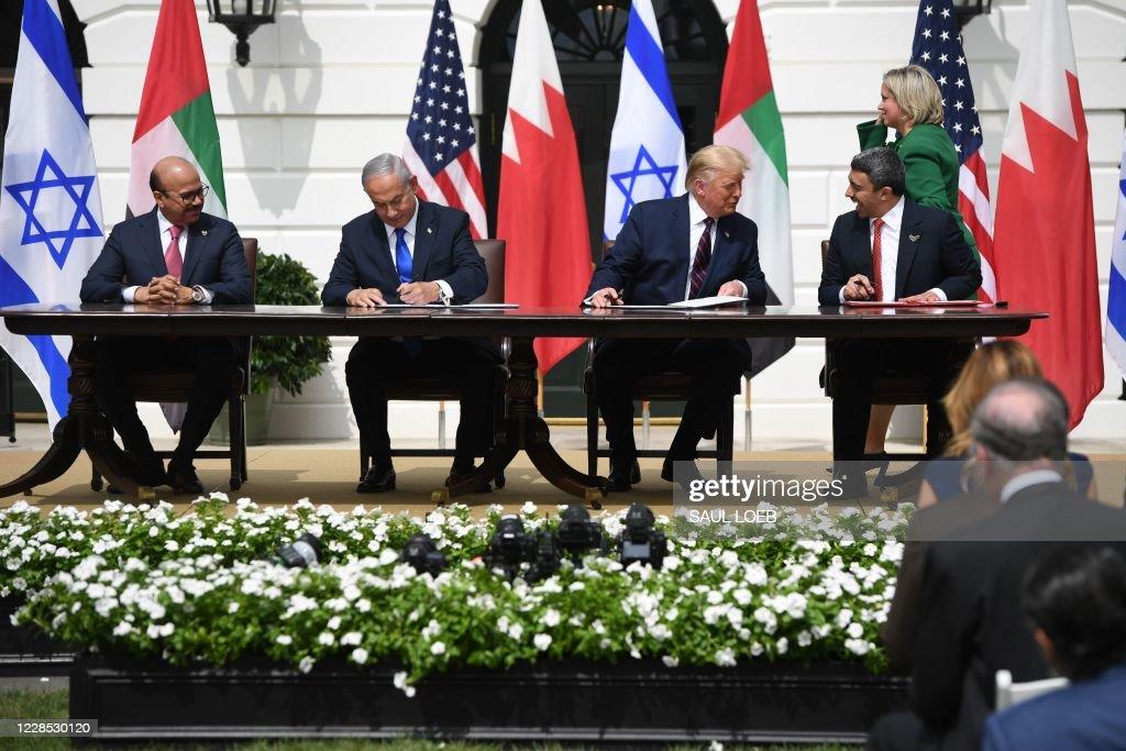 US-ISRAEL-UAE-DIPLOMACY-POLITICS : News Photo
