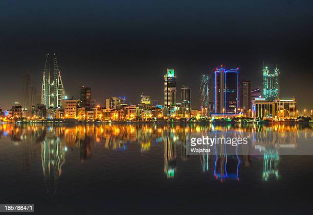bahrain glitters - bahrain stock pictures, royalty-free photos & images