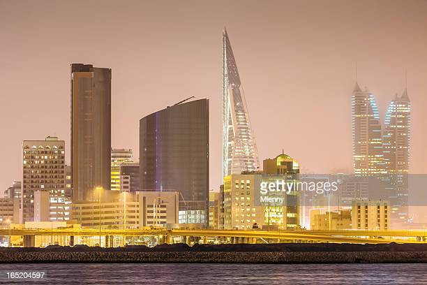 Bahrain Manama at Night