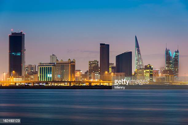Bahrain Manama by Night
