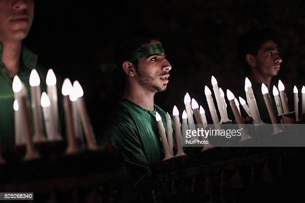Bahrain Manama Shia'a muslims taking a part in the 8th of Muharram which holds the death of AlQassim AlQassim was the son of the Imam Hasan ibn Ali...