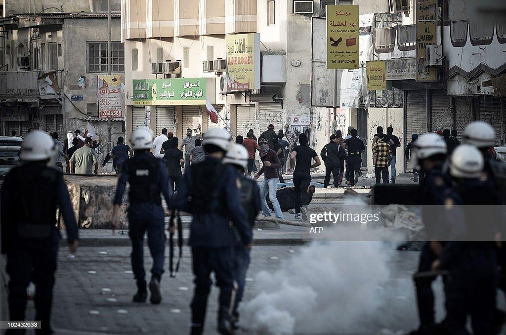 BAHRAIN-POLITICS-UNREST-DEMO : News Photo