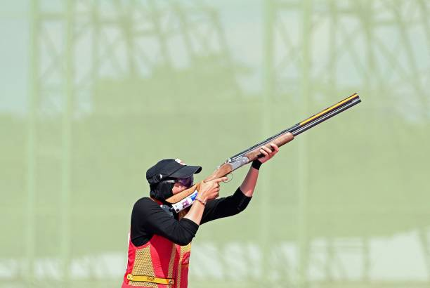 JPN: Shooting - Olympics: Day 3