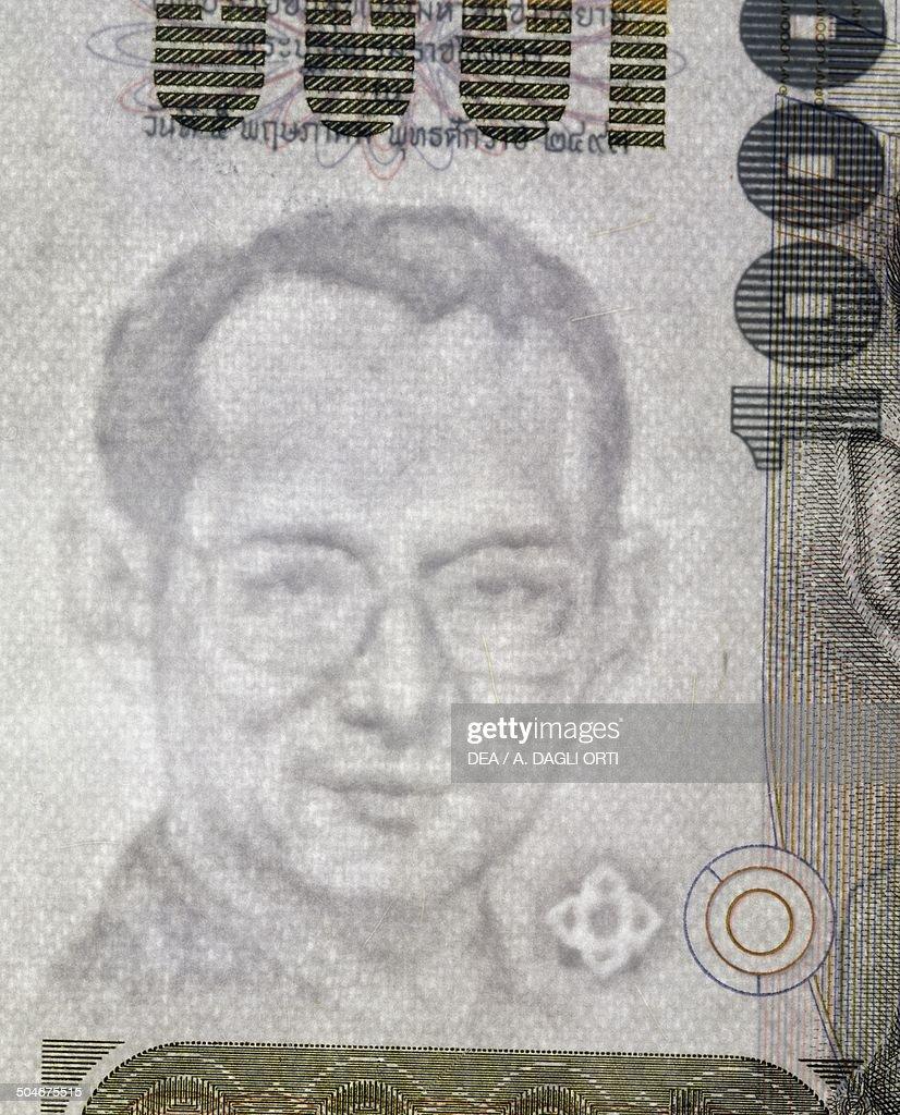 1000 baht banknote... : News Photo