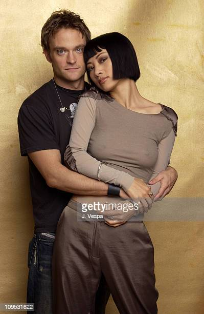 Bai Ling and Chad Allen during 2003 Tribeca Film Festival Paris Portraits at WireImage Portrait Studio Michael Perez Pop Art Gallery in New York New...