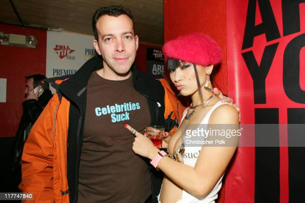 Bai Ling and guest during 2006 Sundance Film Festival ICM Agency Party at Premiere Film Music Lounge at Cain Inside Day 1 at Premiere Lounge in Park...