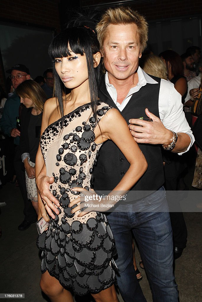 Bai Ling and Kato Kaelin attend Showcase Benefiting The Carrie Ann Inaba Animal Project at Gibson Guitar Entertainment Relations Showroom on August 10, 2013 in Beverly Hills, California.