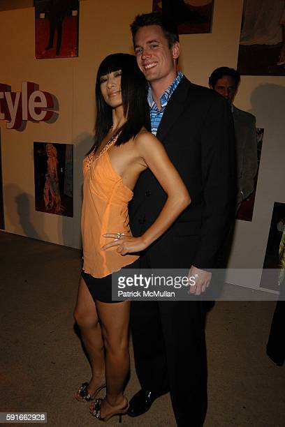 Bai Ling and Ryan Tasz attend Life and Style Magazine presents Stylemakers 2005 at Montmartre Lounge on May 26, 2005.