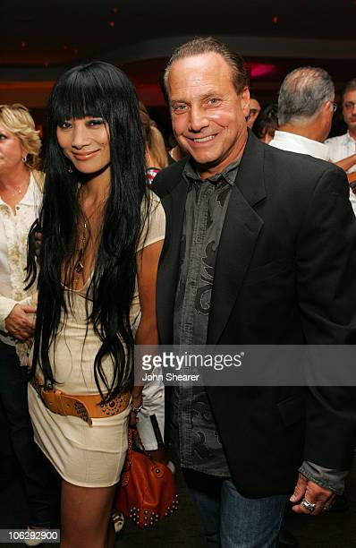 Bai Ling and Wynn Katz during Linea Pelle 20th Anniversary Party - Inside at Pacific Desgin Center in West Hollywood, California, United States.