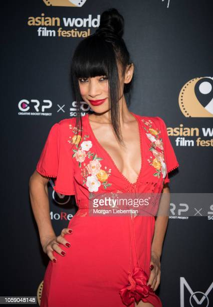 Bai Ling arrives at the 4th Annual Asian World Film Festival Opening Night Screening Of Love Sonia at ArcLight Culver City on October 24 2018 in...