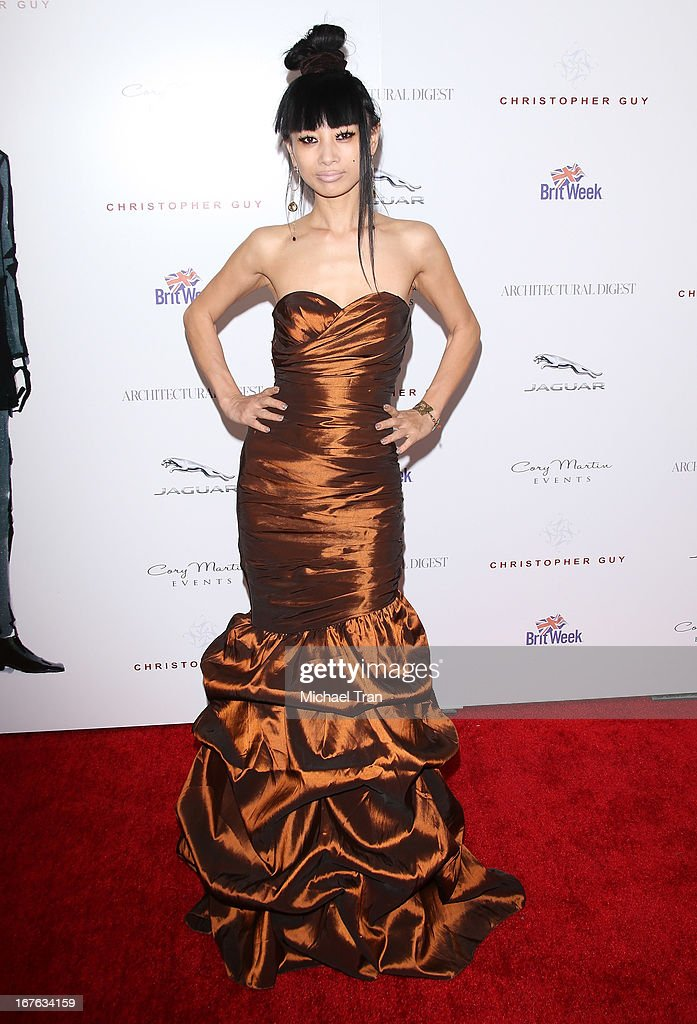 Bai Ling arrives at the 7th Annual Britweek: BritWeek Design Icon Award presentation held at Christopher Guy West Hollywood Showroom on April 26, 2013 in West Hollywood, California.