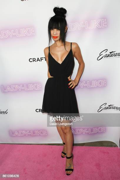 """Bai Ling arrives at the Premiere of Craftsmen Media Co.'s """"Lady-Like"""" at the Academy Of Motion Picture Arts And Sciences on October 13, 2017 in Los..."""