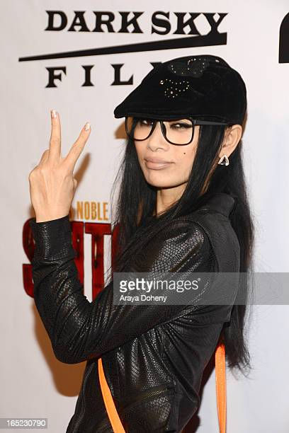 Bai Ling arrives at the Stitches Los Angeles premiere at Cinespace on April 1 2013 in Los Angeles California