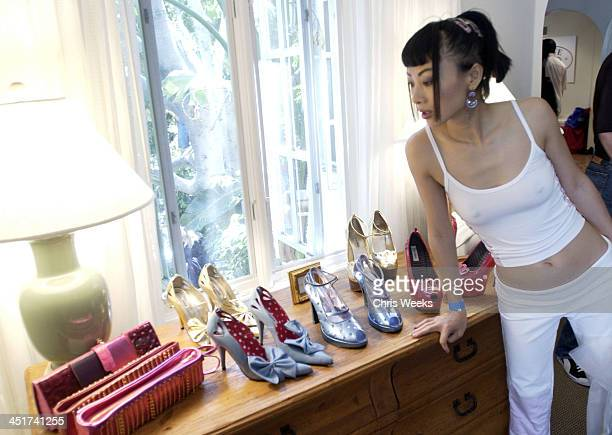 Bai Ling at Steve Madden during Sunset Marquis Oasis Hosts PreMTV Awards with SPIN Magazine Rock the Vote at Sunset Marquis Villas in West Hollywood...