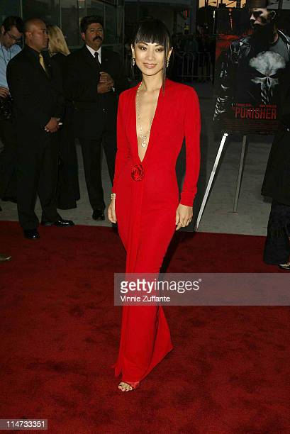 """Bai Ling attending the premiere of """"The Punisher"""" at the Archlight Theatre in Hollywood, California 04/10/04"""