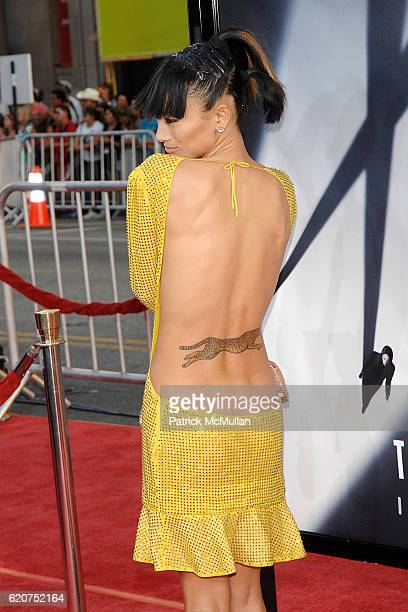 """Bai Ling attends 20th Century Fox World Premiere Of """"The X Files I Want To Believe"""" at Graumans Chinese Theater on July 23, 2008 in Hollywood, CA."""