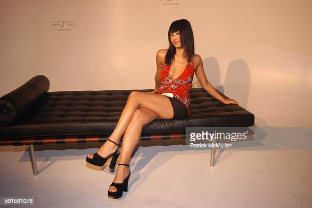Bai Ling attends Sony Play Station Portable Factory at Hollywood Center Studios on May 18, 2005 in LA, CA.