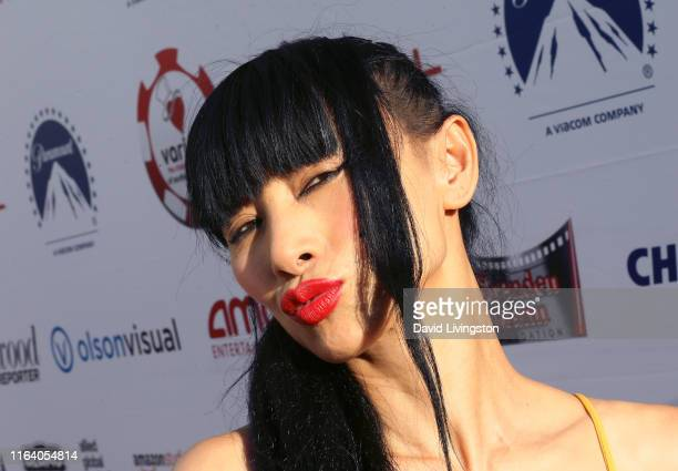 Bai Ling attends the 9th Annual Variety - The Children's Charity Poker and Casino Night at Paramount Studios on July 24, 2019 in Hollywood,...