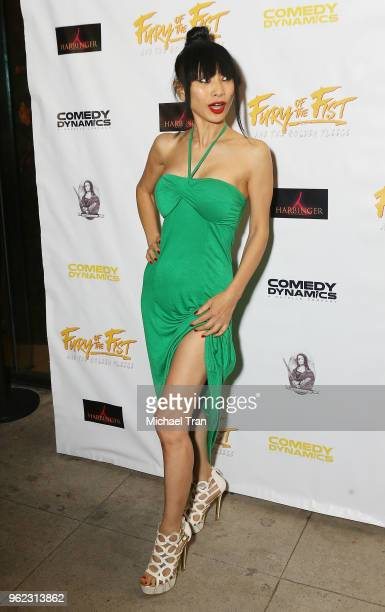 Bai Ling attends the Los Angeles premiere of Comedy Dynamics' The Fury Of The Fist And The Golden Fleece held at Laemmle's Music Hall 3 on May 24...
