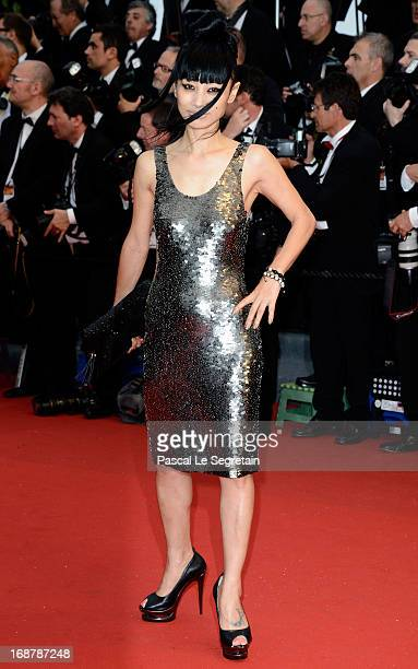 Bai Ling attends the Opening Ceremony and 'The Great Gatsby' Premiere during the 66th Annual Cannes Film Festival at the Theatre Lumiere on May 15...