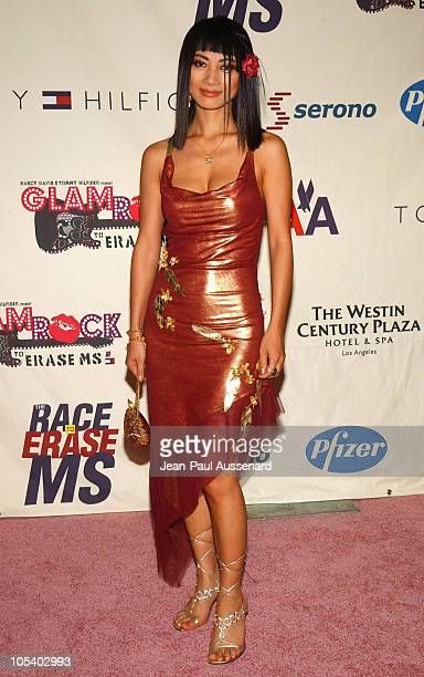 Bai Ling during 11th Annual Race To Erase MS Gala Arrivals at The Westin Century Plaza Hotel in Los Angeles California United States