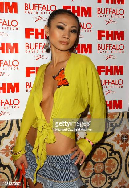 Bai Ling during 2004 FHM Buffalo Jeans Sponsor Party at The Spider Club in Hollywood California United States