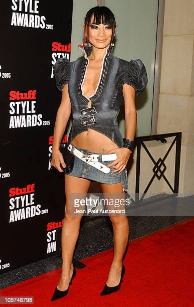 Bai Ling during 2005 Stuff Style Awards Arrivals at Hollywood Roosevelt Hotel in Hollywood California United States