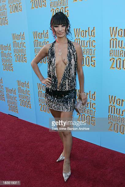 Bai Ling during 2005 World Music Awards - Red Carpet at Kodak Theatre in Los Angeles, CA, United States.