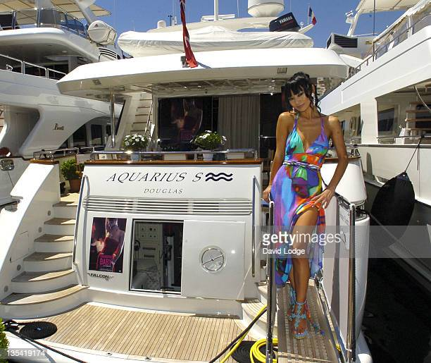 Bai Ling during 2006 Cannes Film Festival - Bai Ling Portrait Session at Port in Cannes, France.