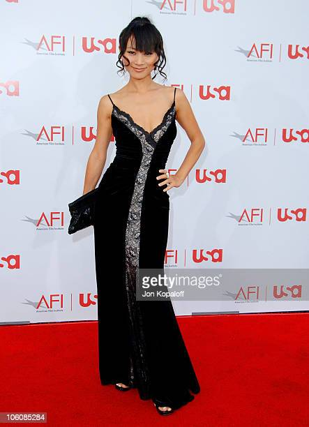 Bai Ling during 34th Annual AFI Lifetime Achievement Award: A Tribute to Sean Connery - Arrivals at Kodak Theatre in Hollywood, California, United...
