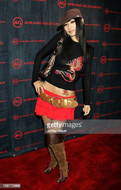 Bai Ling during AG Jeans 1st Anniversary Party Arrivals at AG on Robertson in Los Angeles California United States