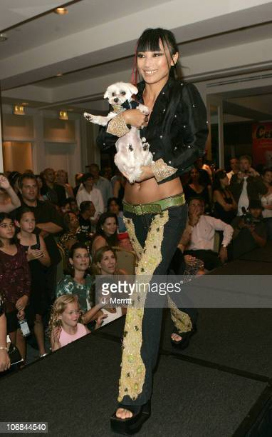 """Bai Ling during Animal Fair's 6th Annual """"Paws for Style"""" Pet Fashion Show and Gala Charity Auction - Red Carpet and Show at The Loews Beverly Hills..."""