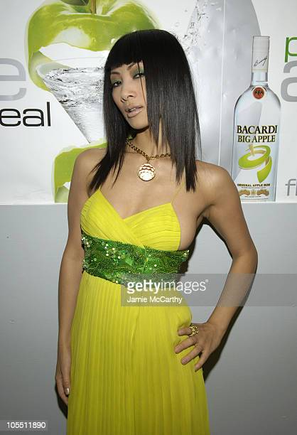 Bai Ling during Bacardi Big Apple Goes High Style at Time Warner Center in New York City, New York, United States.