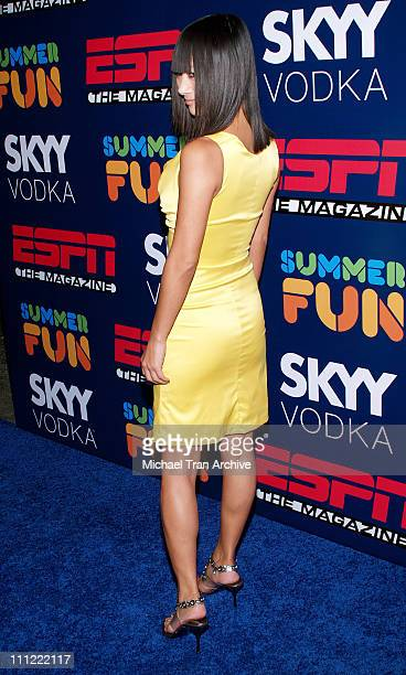 Bai Ling during ESPN The Magazine Presents Summer Fun 2006 Arrivals at The Roosevelt Hotel in Hollywood California United States