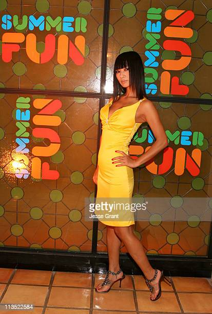 Bai Ling during ESPN The Magazine Presents Summer Fun 2006 Inside at The Roosevelt Hotel in Los Angeles California United States