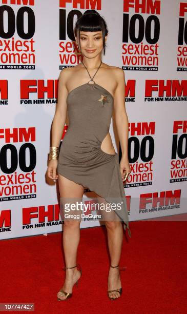 Bai Ling during FHM Magazine Hosts The '100 Sexiest Women in the World' Party at Raleigh Studios in Hollywood California United States