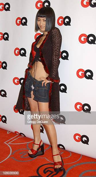 Bai Ling during GQ Honors Tinseltown with the Unveiling of the GQ Annual Hollywood Issue at GQ Lounge at White Lotus in Hollywood California United...