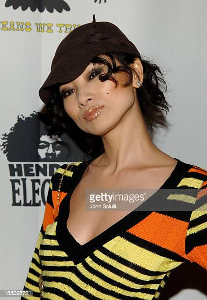 Bai Ling during Joy Bryant, Elizabeth Banks and Bijou Phillips Host Mean Magazine Release Party Sponsored by Antik Denim and Amp'd Mobile at LAX in...