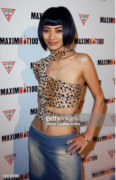 Bai Ling during Maxim Hot 100 Party Arrivals at Yamashiro in Hollywood California United States
