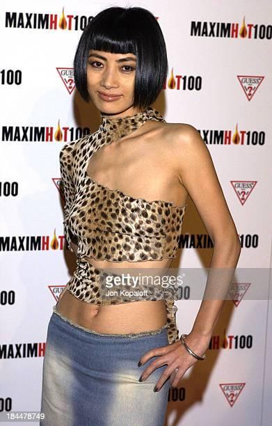 Bai Ling during Maxim Hot 100 Party Arrivals at Yamashiro in Hollywood California United States