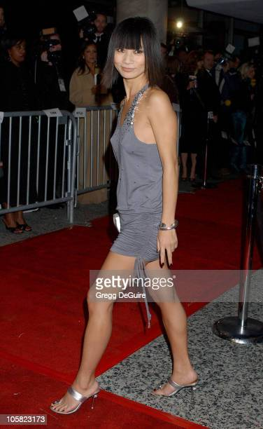 Bai Ling during Paramount Pictures Hosts 2007 Golden Globe Award AfterParty Arrivals at Beverly Hilton Hotel in Beverly Hills California United States