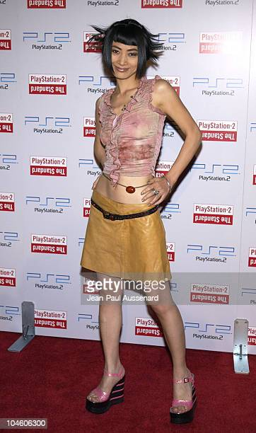 Bai Ling during Playstation 2 Party at The Standard Downtown Los Angeles at The Standard in Los Angeles California United States