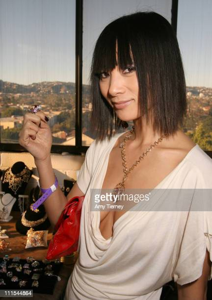 Bai Ling during Primary Action's Liberace 2007 Oscar Suite Day 2 at Liberace Penthouse in Beverly Hills California United States