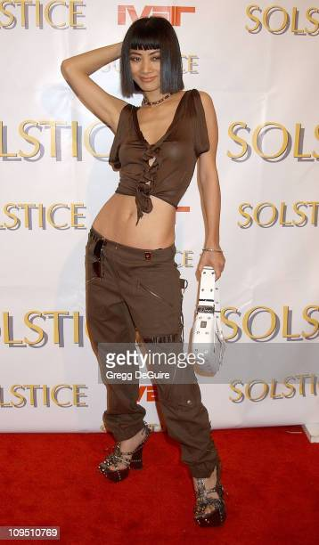 Bai Ling during Safilo USA Hosts CelebrityStudded Spring 2003 Designer Sunglass Fashion Show Extravaganza and Launch Party for the New Beverly Hills...