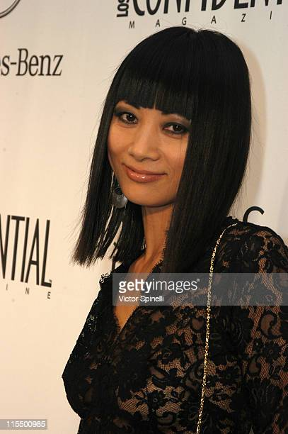 Bai Ling during Saks Fifth Avenue and MercedesBenz Kick Off Party for MercedesBenz Fashion Week at Smashbox Studios at Saks Fifth Avenue in Beverly...