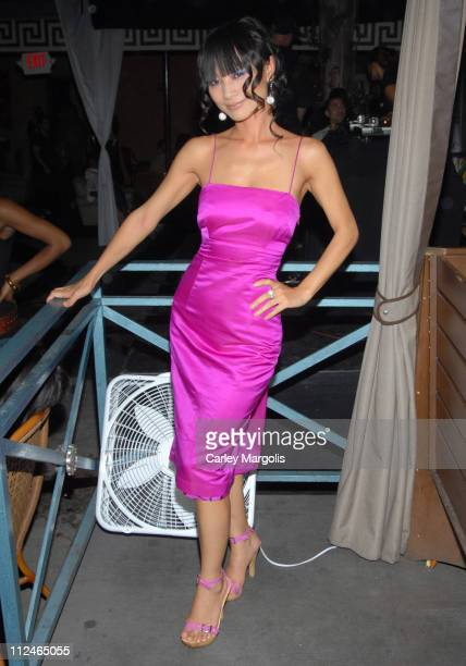 """Bai Ling during Samsung and T-Mobile """"Now and Thin"""" in Hollywood Hosted by Jeremy Piven at Cabana Club in Hollywood, California, United States."""