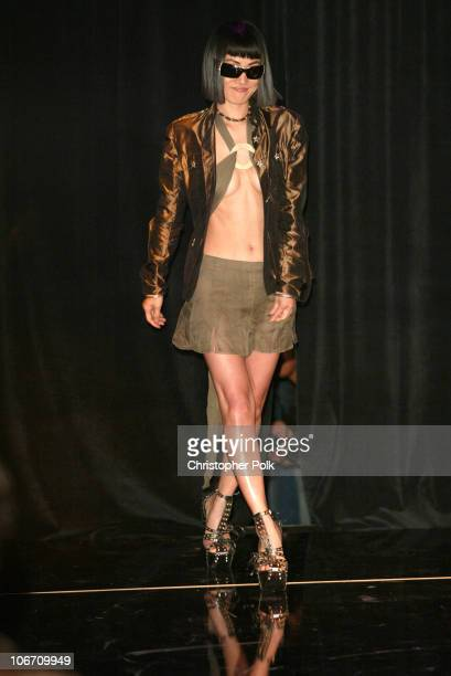 Bai Ling during SOLSTICE Hosts CelebrityStudded Spring 2003 Designer Fashion Show Extravaganza Launch Party at Ivar in Hollywood CA United States