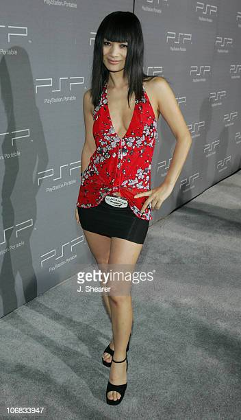 Bai Ling during Sony Computer Entertainment America Brings Art to Life at the PSP Factory - Grey Carpet at Hollywood Center Studios in Hollywood,...