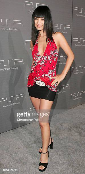 Bai Ling during Sony Computer Entertainment Brings Art to Life at The PSP Factory at Hollywood Center Studios Stage 4 in Los Angeles California...