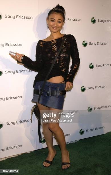Bai Ling during Sony Ericsson's Hollywood Premiere Party 2003 at The Palace in Hollywood California United States
